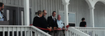 2001: Ribbon Cutting Ceremony at GTM NERR Headquaters