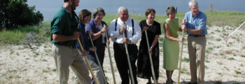 2002: Groundbreaking Ceremony for GTM Environmental Education Center